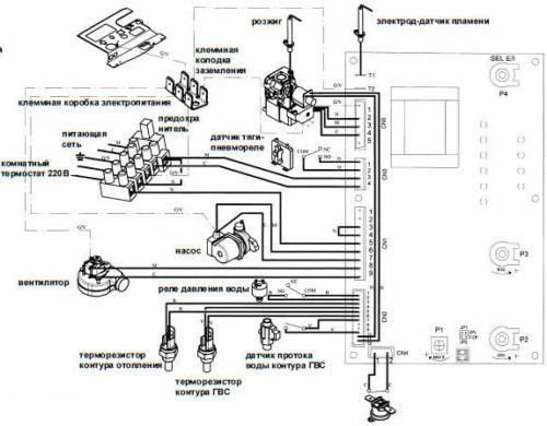 Электрическая схема MAIN 24 Fi